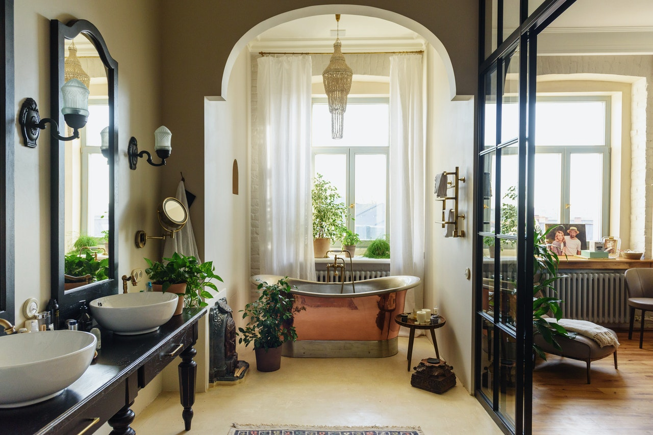 What Should You Hang On Your Bathroom Walls